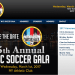 Mickey Kydes being Honored at NYC Soccer Gala